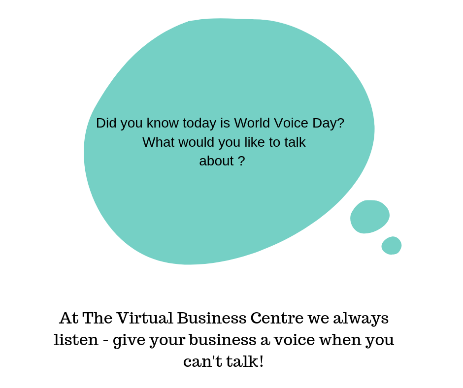 image for world voice day